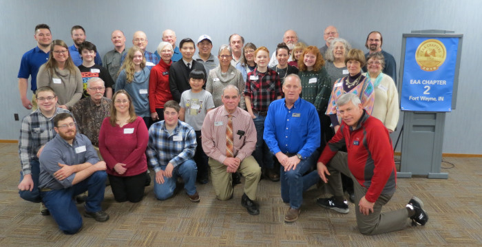 EAA Chapter 2 Banquet Group Photo