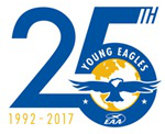 Young Eagles 25 Years Logo